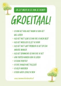 Groeitaal